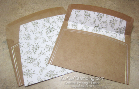 Magnolia Notes & Shimmer Paint - Magnolia Envelopes