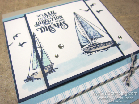 Two Layer Stamping - sailing home 4