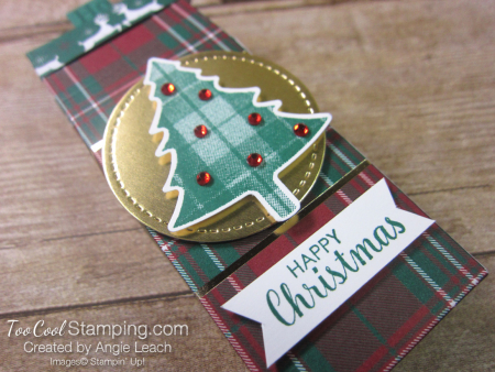 Perfectly Plaid tic tac treats - pine tree 2