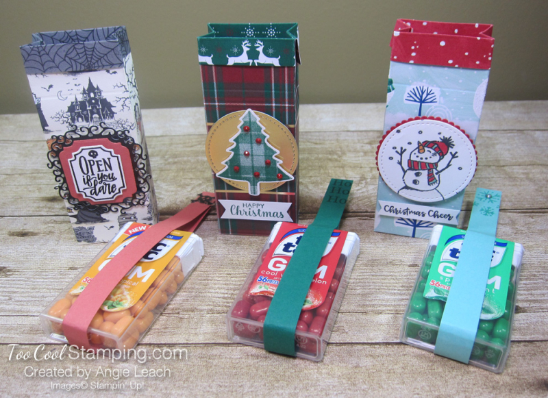 Perfectly Plaid tic tac treats - three cool with candy