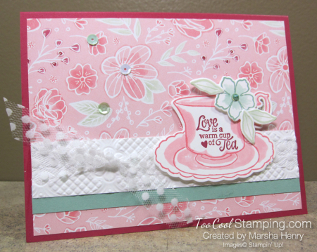 Tea Together Love Is - marsha henry