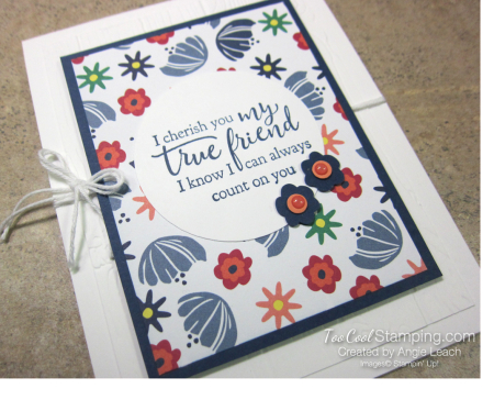 Sweet happiness blooms cards - true friend 2