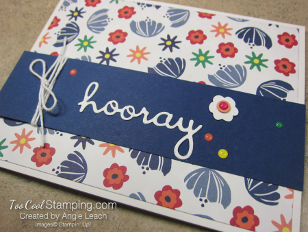 Sweet happiness blooms cards - hooray 2
