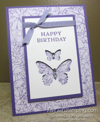 Perennial birthday butterflies - highland 1