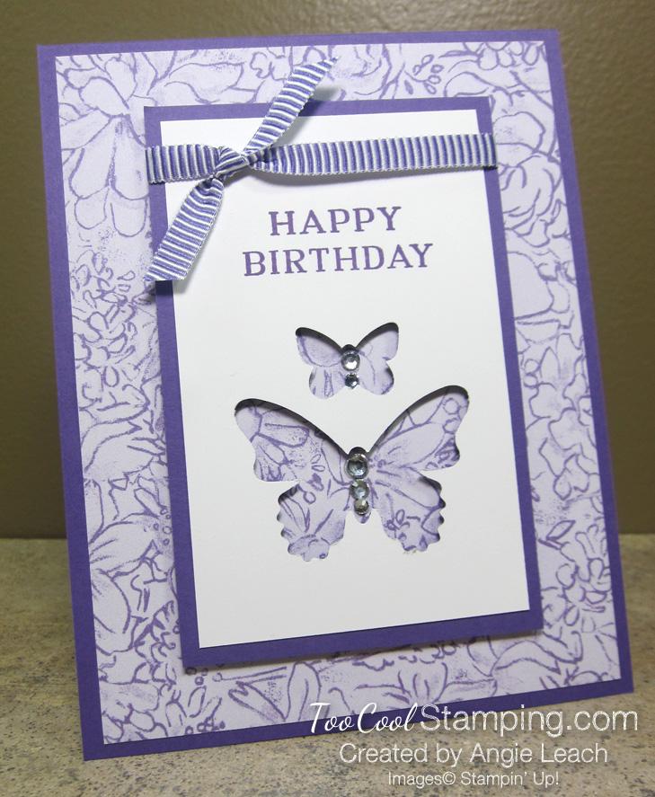 Perennial birthday butterflies - highland 1