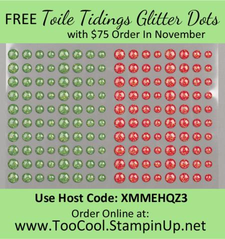 November Thank You Gift Host Code Banner