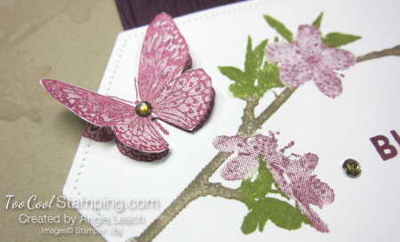 Butterfly wishes with markers - razzleberry 4