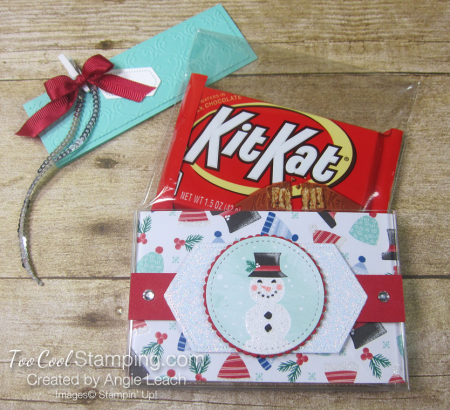 Let it snow kit kat holders - with hat 5