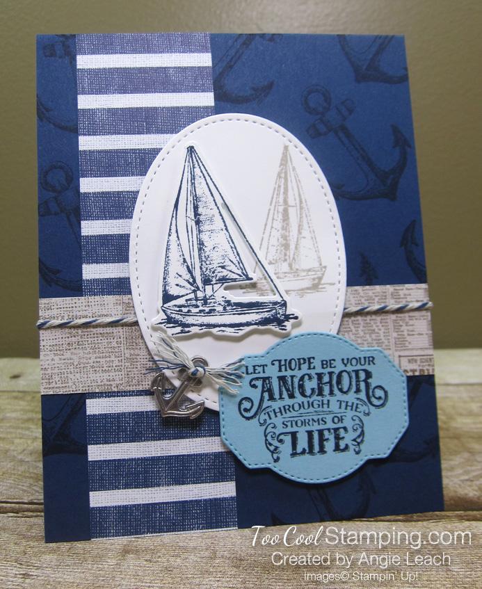 Sailing home anchor of life - 1