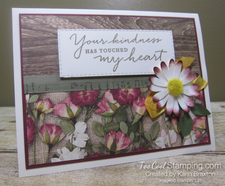 Pressed petals touched my heart - karin1
