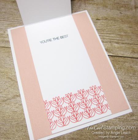 Parcels & petals shimmer flap cards - petal 4