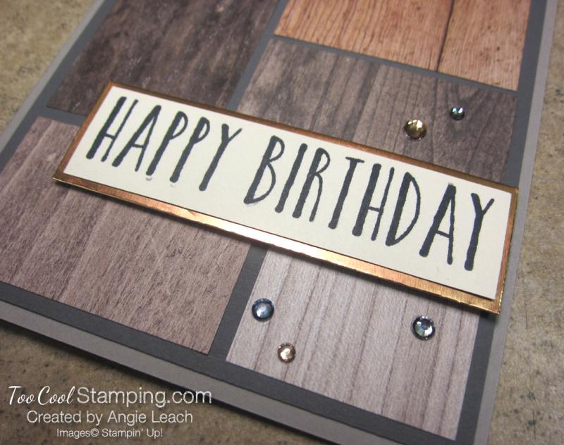 Perennial Birthday DSP blocks - wood 3