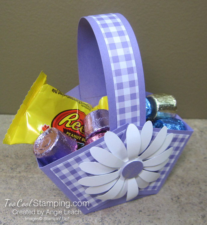 Gingham gala easter baskets - heather goodies 1