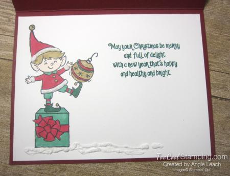 Elfie flip card 5