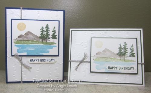 Waterfront masculine birthday - two cool