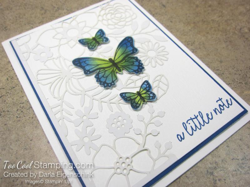 Butterfly Gala Delightfully Detailed Note - darla 2