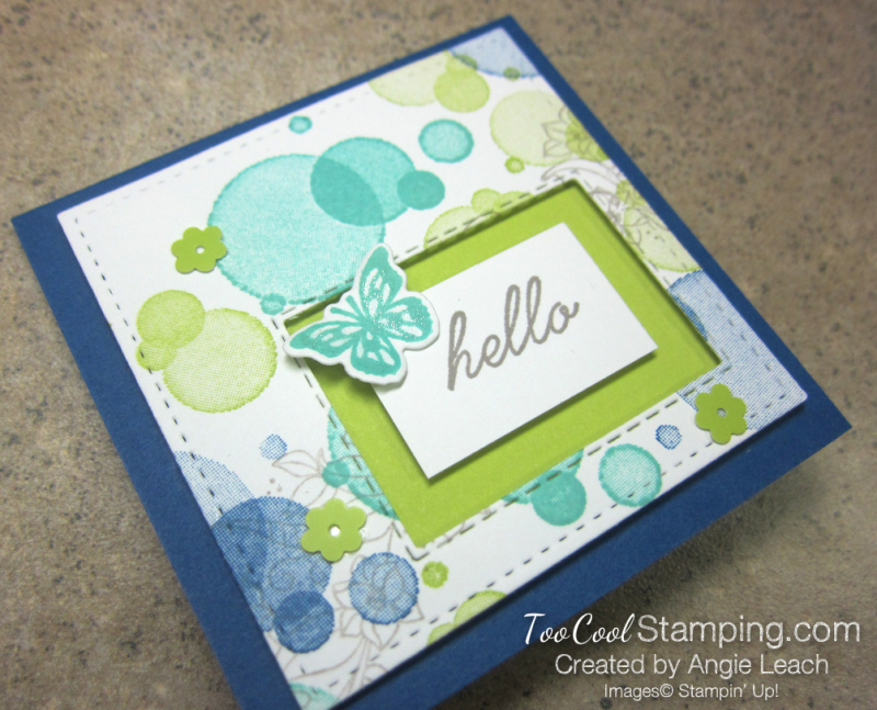 Beauty abounds recessed window notes - blueberry