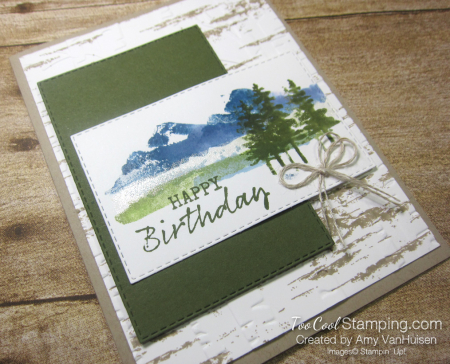Waterfront spritzed stamping 2 - amy