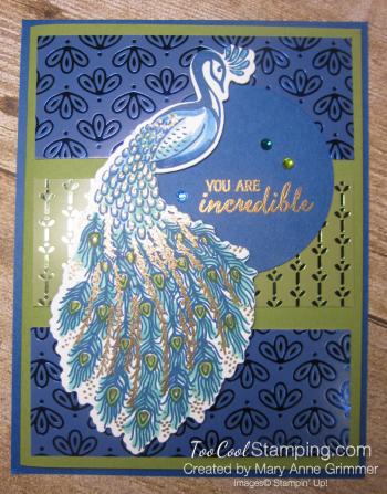 Noble Peacock incredible 1