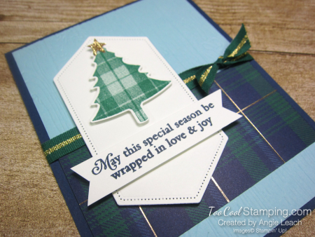 Perfectly plaid expo cards - love joy 2