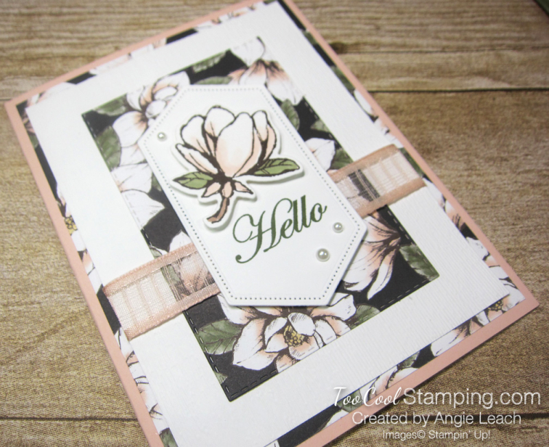 Magnolia lane rectangle layers cards - petal 2