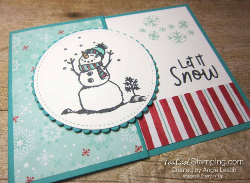Let it snow gift card holder - pool 2
