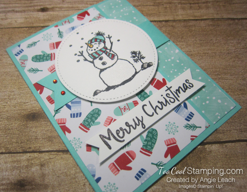 Let it snow interlocking card - pool 2