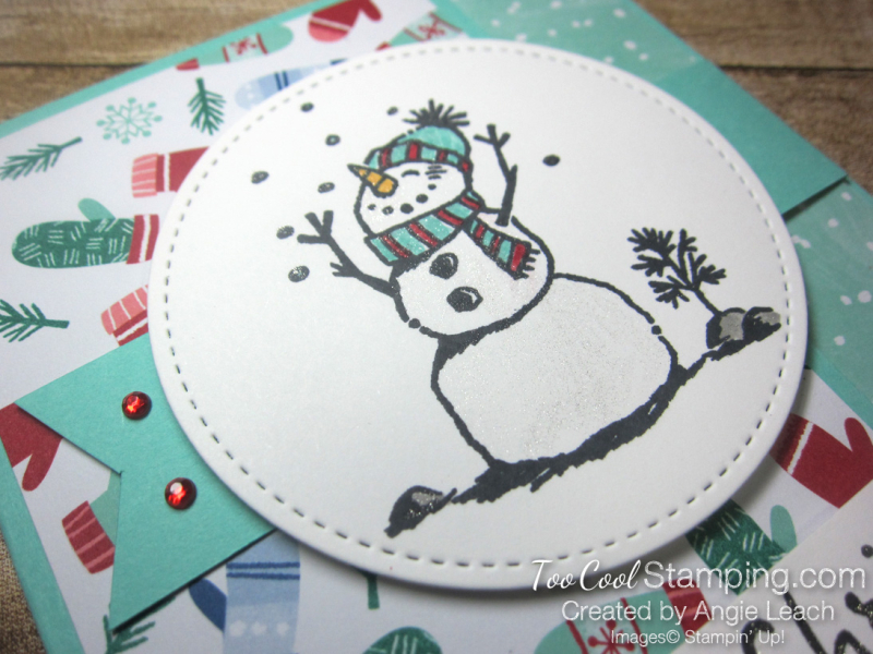 Let it snow interlocking card - pool 3