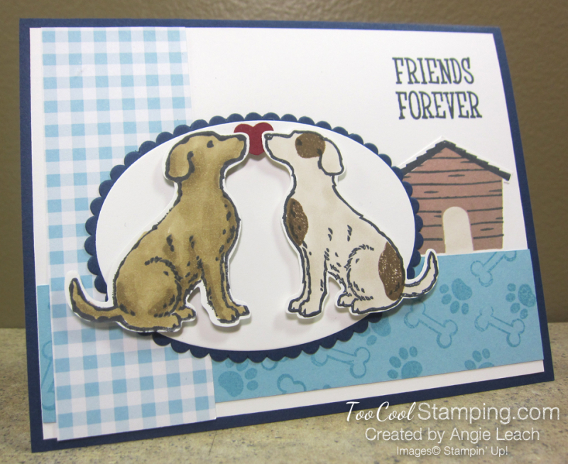 Gingham gala happy tails - friends forever 1