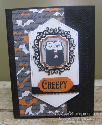 Monster bash creepy card 1