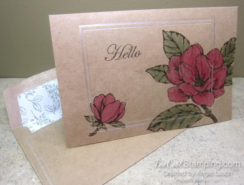 Magnolia Notes & Shimmer Paint - Lovely Shimmer