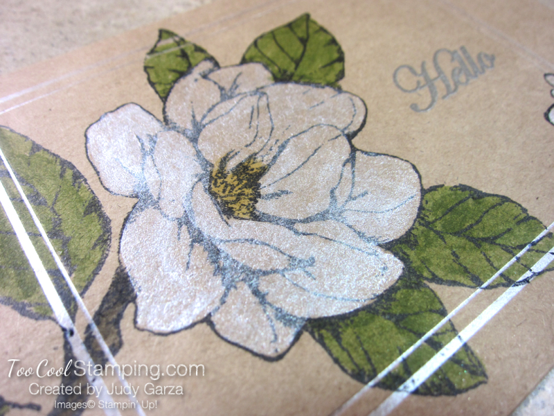 Magnolia Notes & Shimmer Paint - white 2