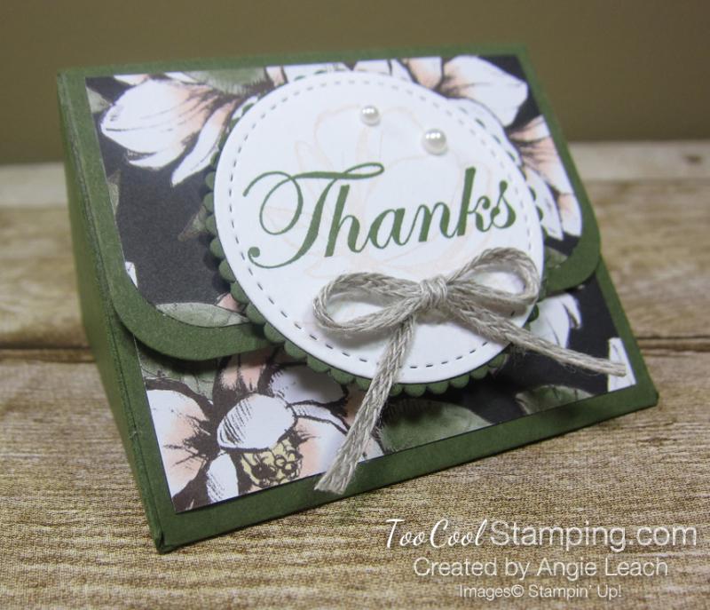 Magnolia lane triangle box - thanks