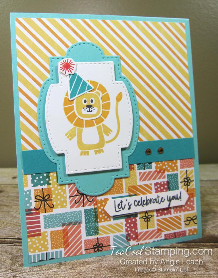 Birthday bonanza celebrate you - lion