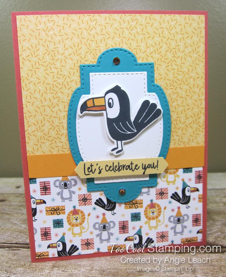 Birthday bonanza celebrate you - toucan