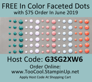 FREE In Color Facted Dots - June 2019