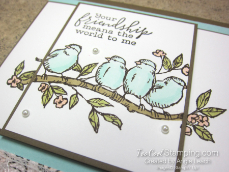 Two Layer Stamping - free as a bird 3