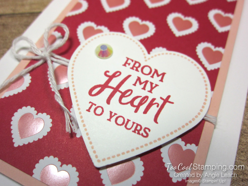 From My Heart gift set - from my heart card 2
