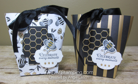 Golden honey treat pouches - two cool