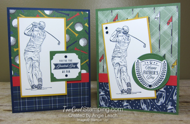 Clubhouse navy golfer - two cool