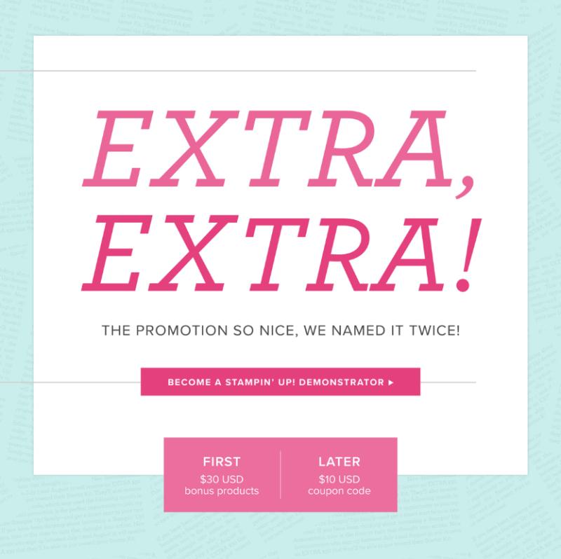Extra Extra Twice as nice promo