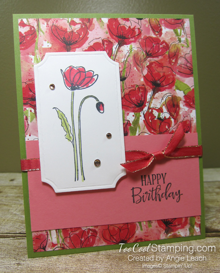 Painted labels - birthday