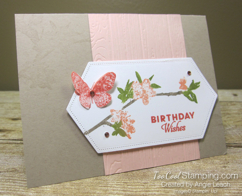 Butterfly wishes with markers - petal pink 1
