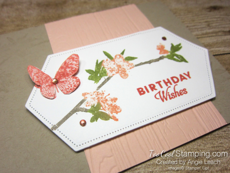 Butterfly wishes with markers - petal pink 2