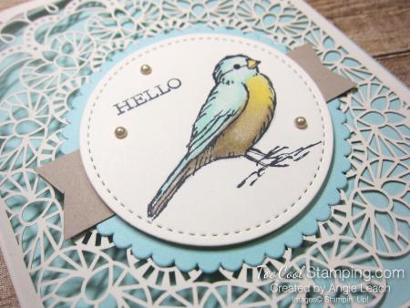 Bird ballad laser-cut - hello bird 2