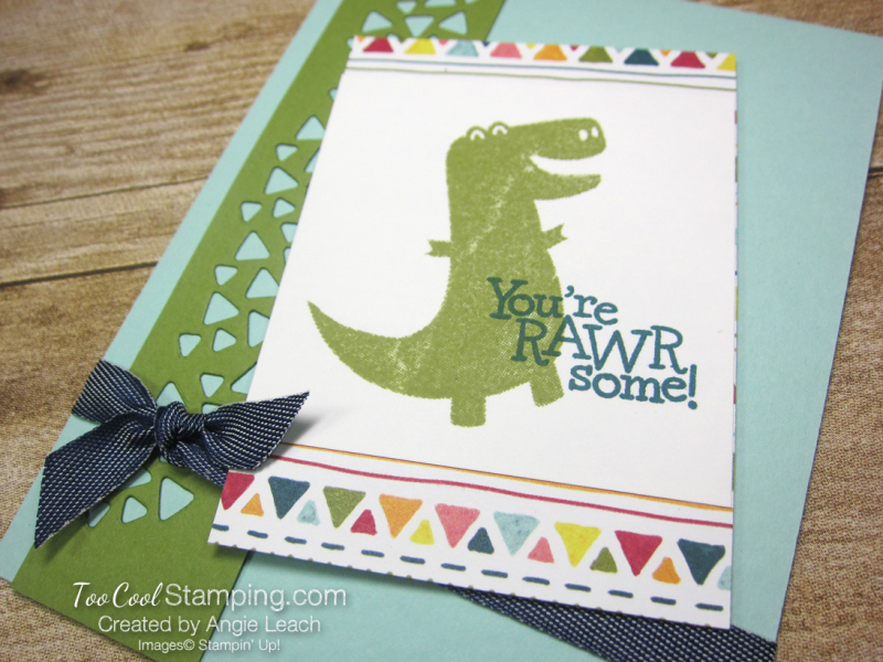 Dino days easy cards for kids - pool 2