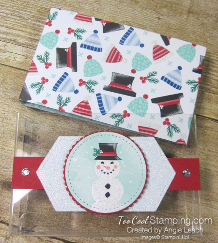 Let it snow kit kat holders - with hat 6