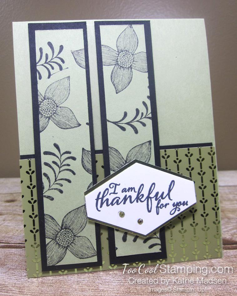 Kathe green cards - thankful