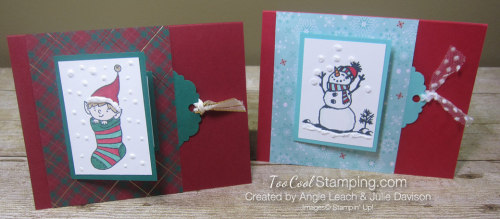 Fancy Flip cards - angie & julie