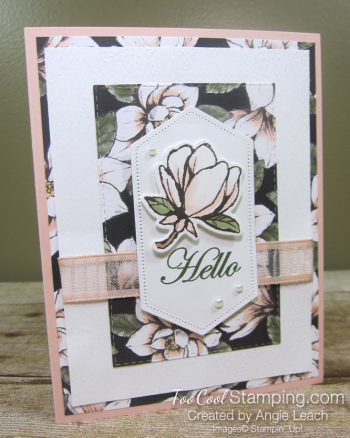 Magnolia lane rectangle layers cards - petal